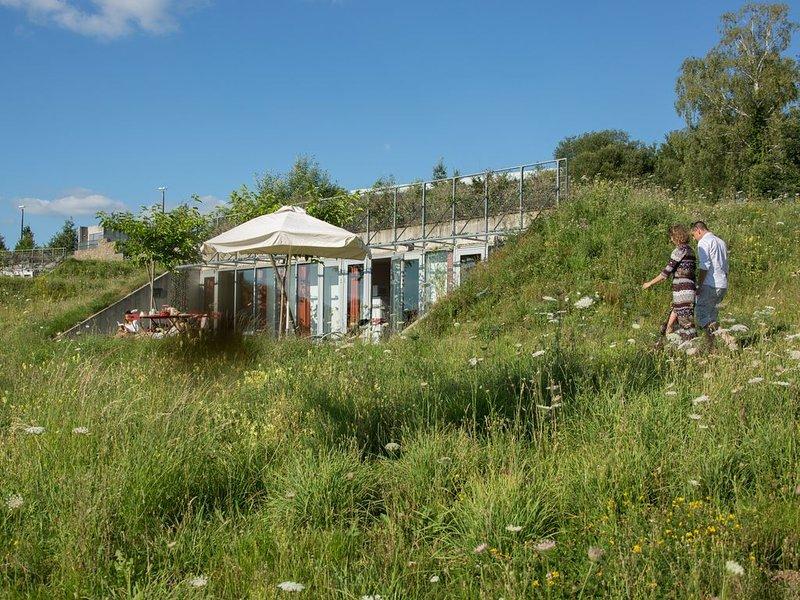 Gîtes troglodytes - Piscine chauffée - A 10 min de Brive  -2 personnes, location de vacances à Allassac