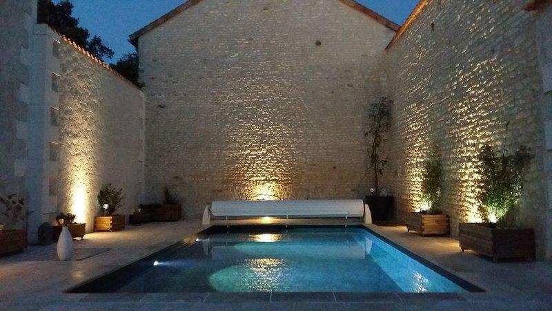maison avec piscine chauffée, holiday rental in Neuville de Poitou