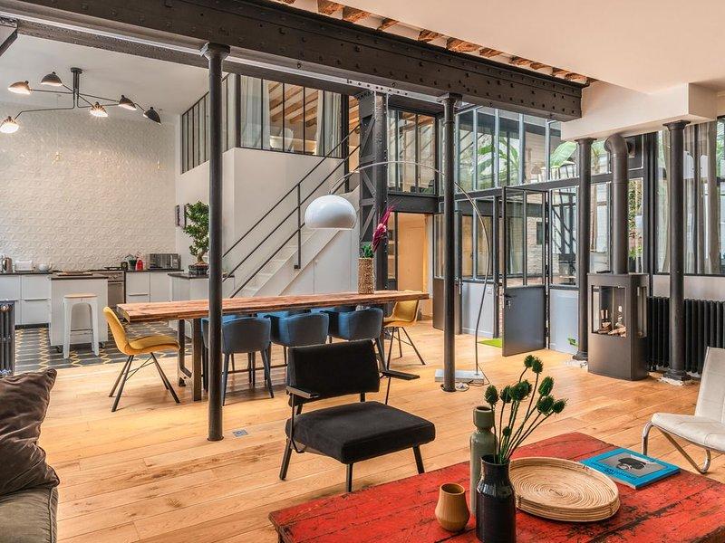 Exceptionnel Loft d'Architecte - Nord Marais, holiday rental in Paris