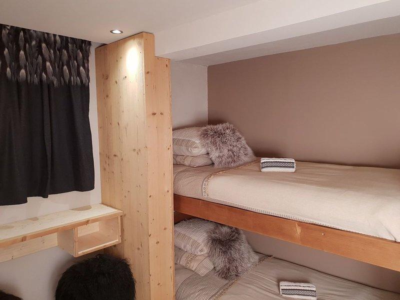Appartement Confortable dans un décor contrasté entre modernité et traditions., holiday rental in Montriond