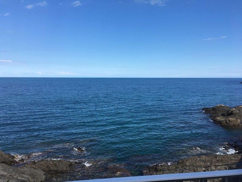 the sea ... photo taken on the terrace