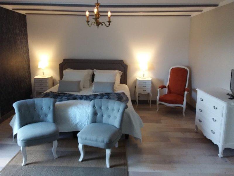 Chambre d'Hôtes' MONTIS MAURELLI' chambre 1, holiday rental in Montmoreau-Saint-Cybard