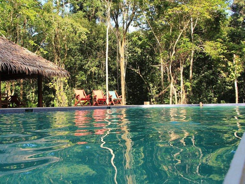 FINCA ARDILLA, chambres d'hôtes de charme dans la jungle, Ferienwohnung in Cocles