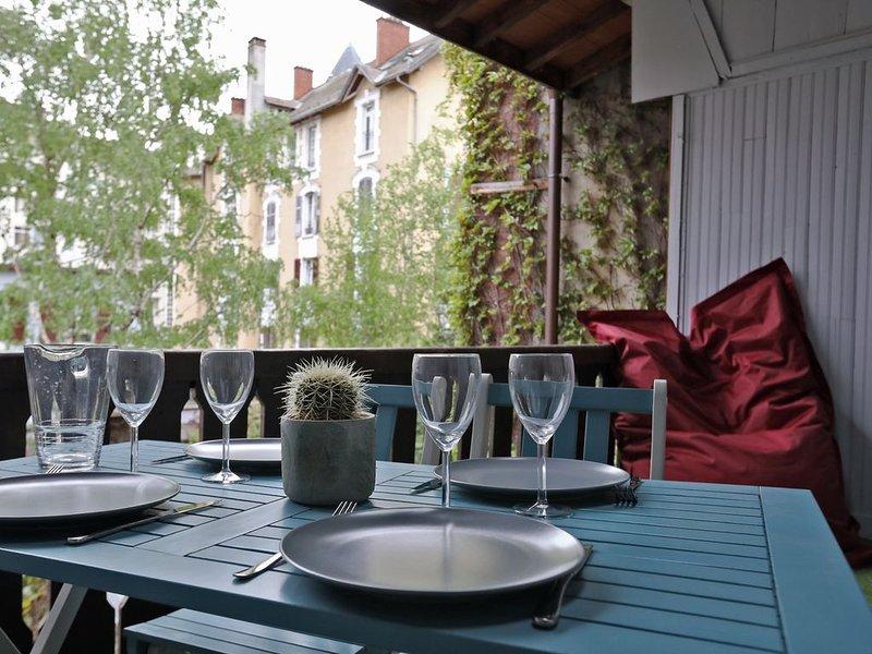 La Terrasse Carnot, plein centre, holiday rental in Cran-Gevrier