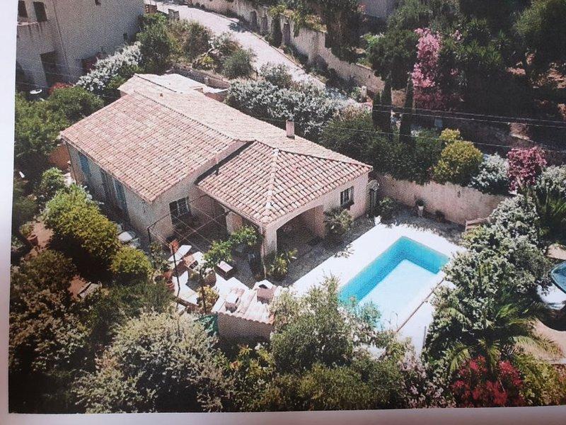 Villa avec piscine à Santa réparata, 4 Km de la mer (île Rousse), location de vacances à Pigna