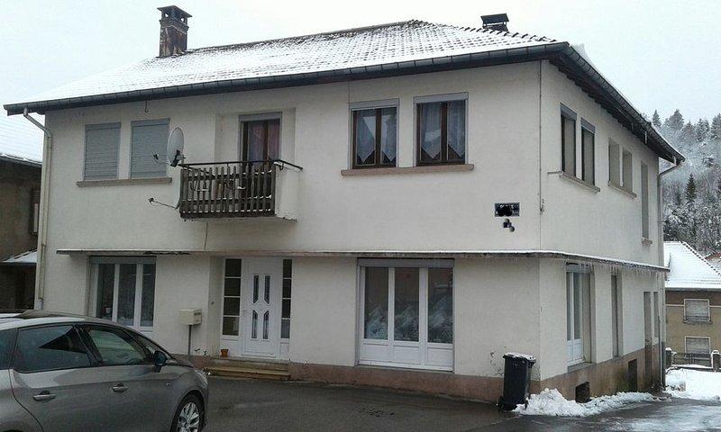Gite perce neige jusqu'à 8 personnes, vacation rental in Le Thillot