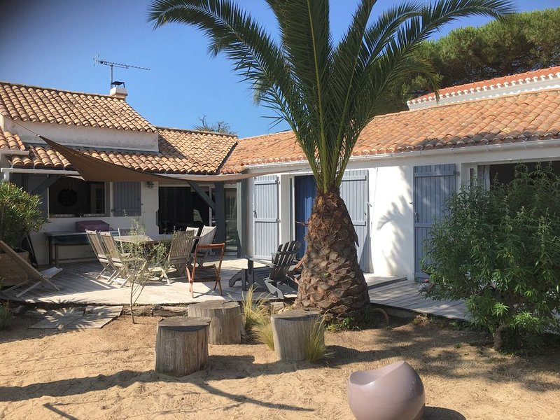 ile de Noirmoutier, Villa 150 m de la Plage. Wifi., holiday rental in L'Epine