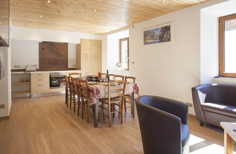 Maison  4 étoiles de village 9 personnes  Val Cenis Lanslevillard, aluguéis de temporada em Val-Cenis