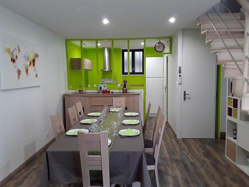Une charmante maison pour un séjour au vert – semesterbostad i Coulon