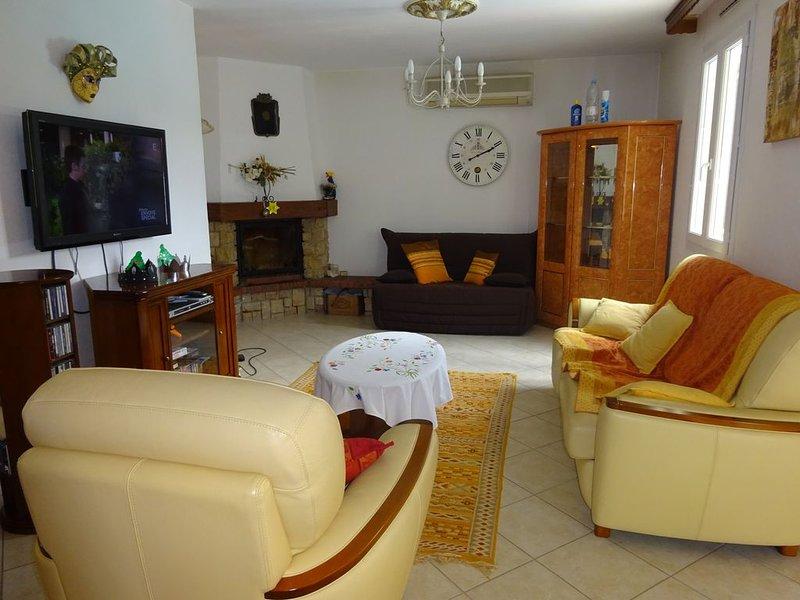 location villa vaucluse, aluguéis de temporada em Camaret-sur-Aigues