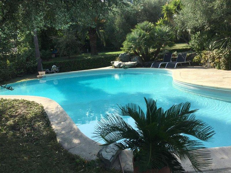 Appartement F3 meublé rez de chaussée de villa, alquiler de vacaciones en Borgo