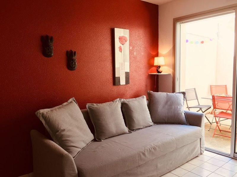 Sables d'Olonne - Maison 4 personnes avec patio, holiday rental in Sainte-Foy