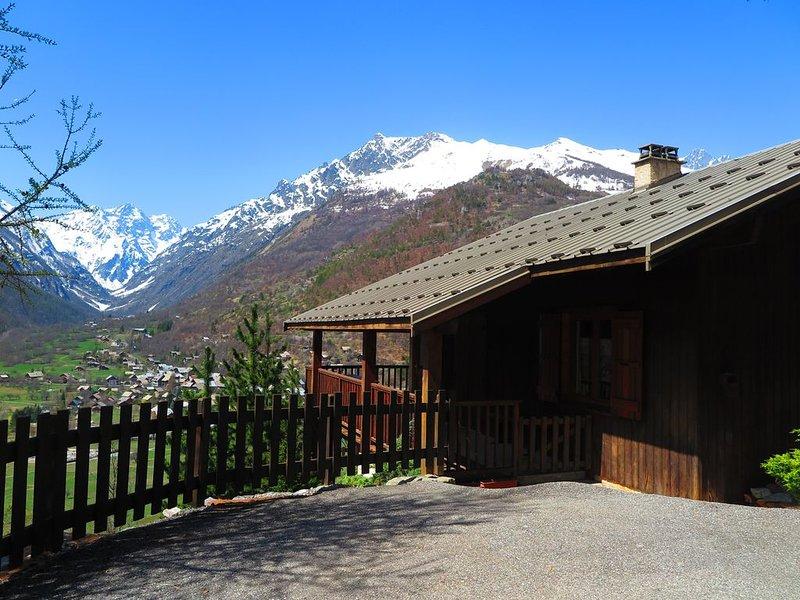Location chalet de montagne Vallouise ( 8 - 18 couchages) Parc des Ecrins, holiday rental in Vallouise