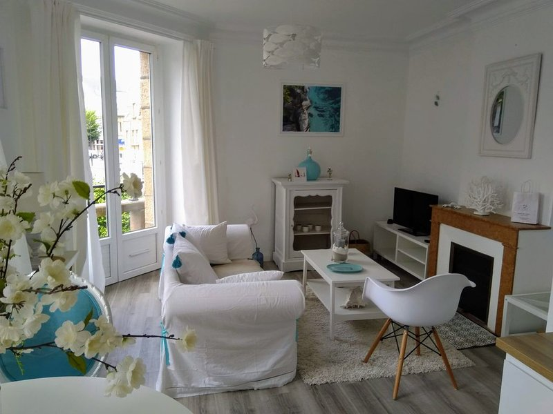Appartement en centre ville de Perros-Guirec 4 couchages, location de vacances à Perros-Guirec