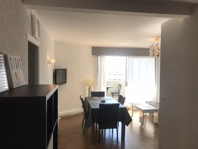 Loue appartement  climatisé  sur le port de carnon, location de vacances à Carnon