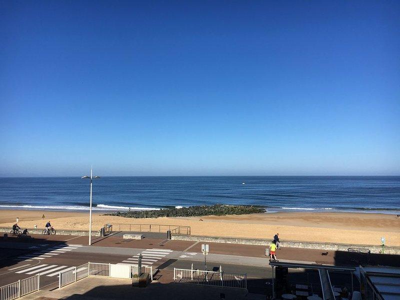 Bel appartement avec sa magnifique vue sur la mer !, location de vacances à Landes