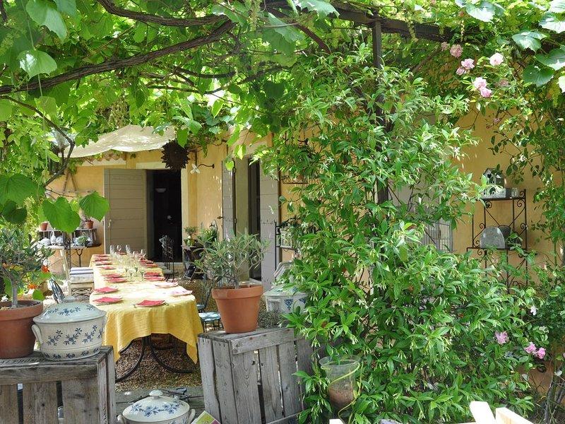 Charmante maison provençale, holiday rental in Joucas