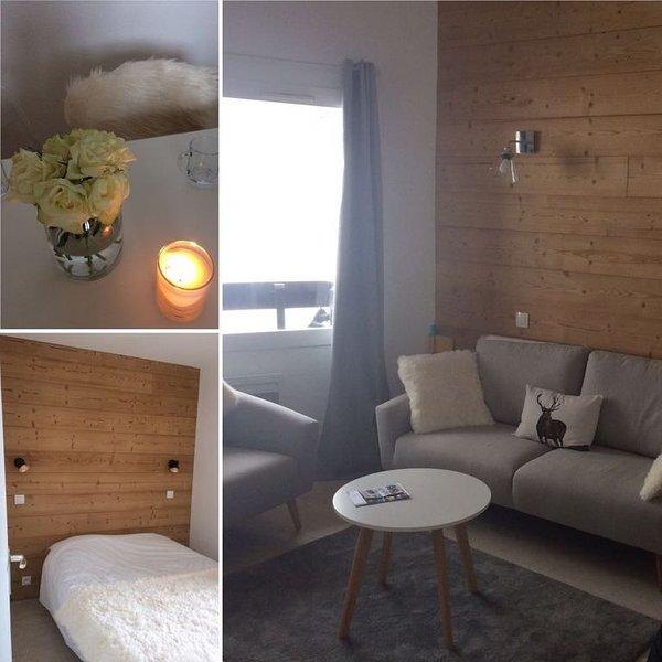 Magnifique duplex de 5 pièces (68 m2) refait à neuf et tout équipé, casa vacanza a Les Avanchers-Valmorel