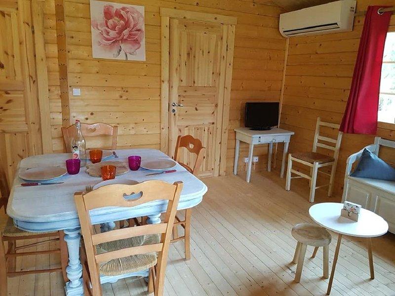 Chalet bois au calme, holiday rental in Reignac
