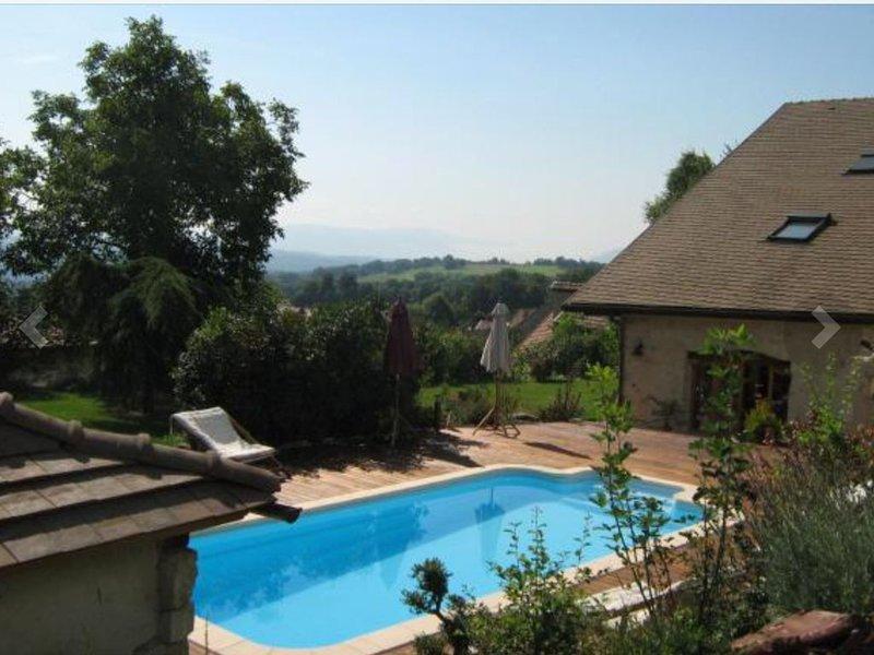 Maison idéale pour vos vacances En famille ou entre amis, holiday rental in Le Poizat