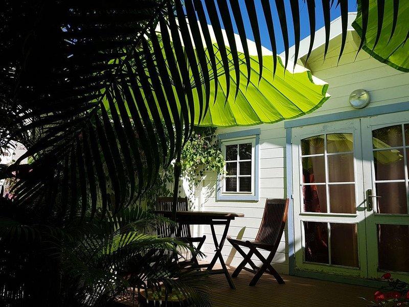 Bungalow meublé au bord du Lagon de la Réunion, location de vacances à Arrondissement de Saint-Paul