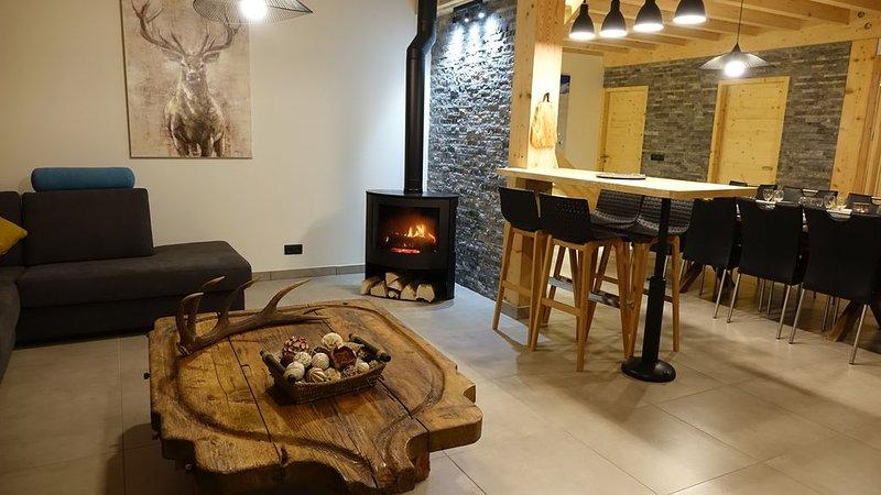 Gîte de charme au cœur du Parc Naturel Régional du Massif des Bauges, holiday rental in Montailleur