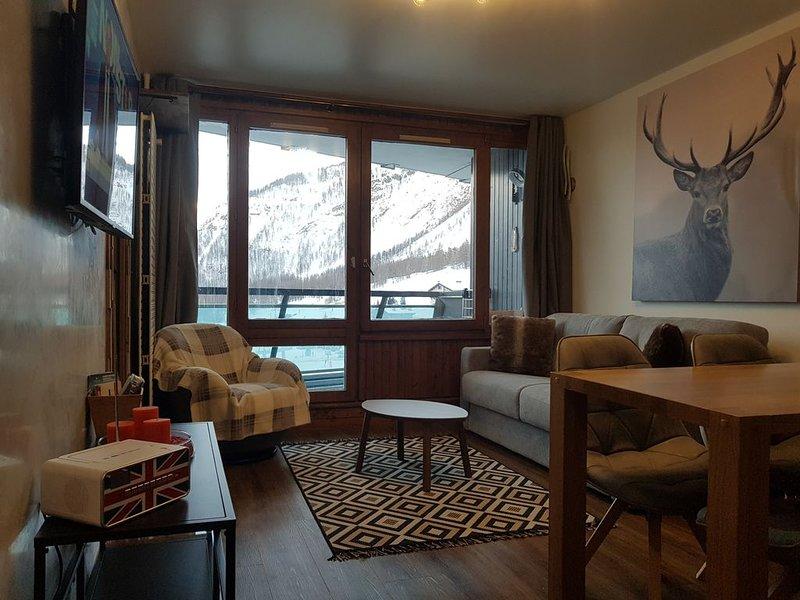 Val d'Isère — Pied des pistes 3 Pièces Modernes, holiday rental in Val d'Isère