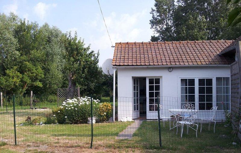 Maison à Cayeux sur mer, au calme, aluguéis de temporada em Cayeux-sur-Mer