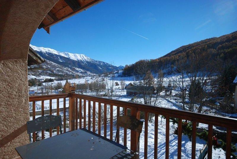 DUPLEX 7 à 9 personnes -  Le BEZ - SERRE CHEVALIER 1400 - pied des pistes, holiday rental in La Salle les Alpes