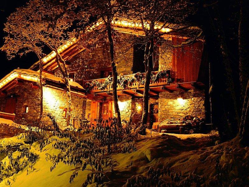 Terrasses, espace et confort 4 * au chalet Le Pré Catin à Bonneval-sur-Arc, location de vacances à Ala di Stura