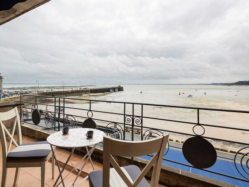 La Bisquine Vue mer - Deux Chambres Appartement, Couchages 4, casa vacanza a Cancale