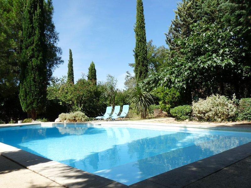Magnifique domaine provençal 25 couchages : L'Arbre d'Or, vakantiewoning in La Roque-sur-Ceze