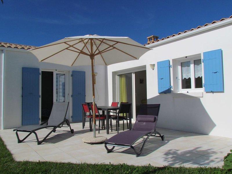 Charmante maison neuve - 1/5 personnes - Confort et Calme – Accès PMR  certifié, aluguéis de temporada em Dolus-d'Oleron