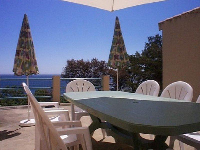 Villa bord de mer,  vue panoramique  , cadre magnifique ,wifi  ,satellite, vacation rental in Saint-Mandrier-sur-Mer