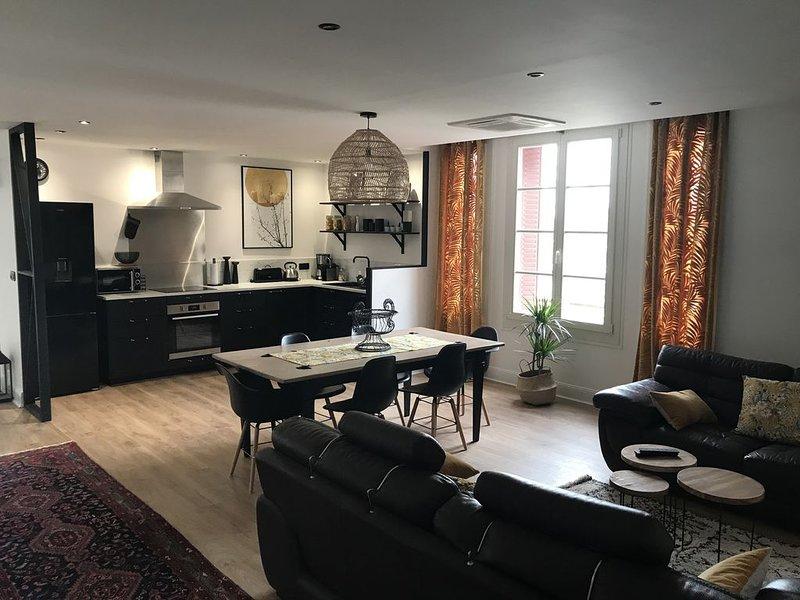 Appartement 2 à 7 personnes -  Auxerre centre - avec parking privé, aluguéis de temporada em Vermenton