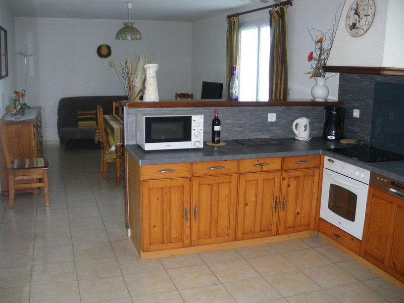 Gîtes 3 épis - confort et tranquillité, proche de la mer., holiday rental in Vendres