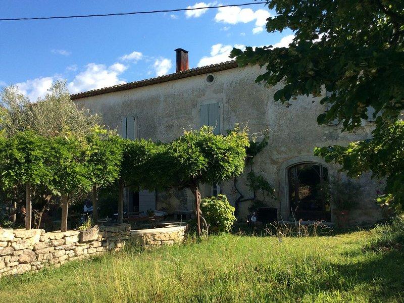 Appartement avec magnifique vu, holiday rental in Bonnieux en Provence