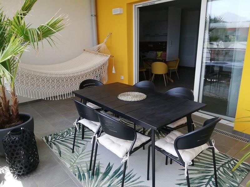 T 3 neuf, 70 m2 AJACCIO, vacation rental in Mezzavia
