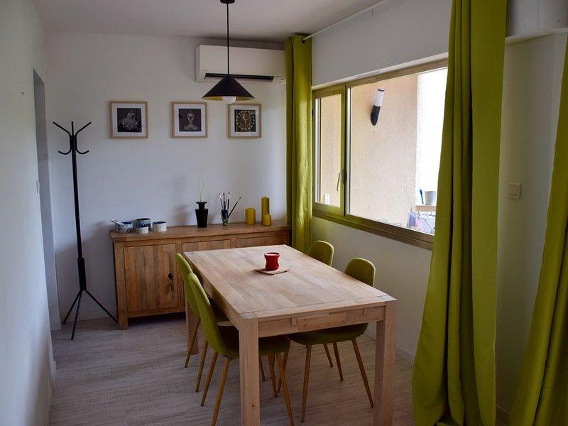 A 200 m de la mer appartement pour 4 personnes,proximité tous commerces – Sagone, holiday rental in Vico
