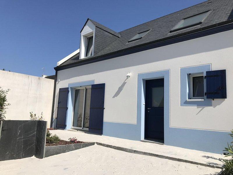Jolie maison tout confort avec vue mer, location de vacances à Groix