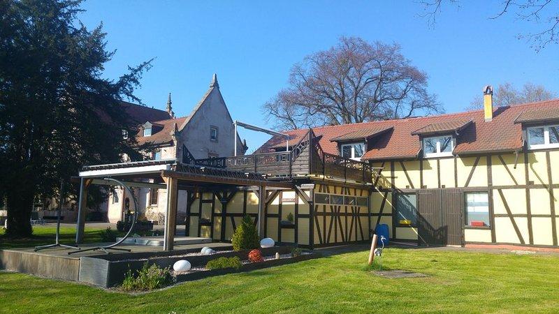 18 km d'Europa park Rust, Gîte CLIMATISE les écuries de Bancalis 5*., alquiler de vacaciones en Kappel-Grafenhausen