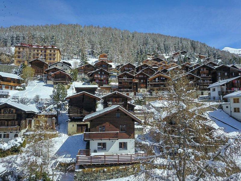Extérieur : chalet pour 6 personnes, balcon, terrasse-pelouse -Intérieur : 110 m, casa vacanza a Saint Jean