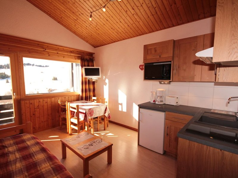 Appartement 4/5 pers. Les Saisies - Front de neige, holiday rental in Les Saisies