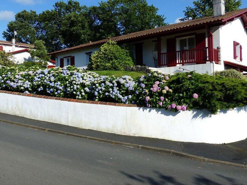 Gîte à Ascain, Pays Basque, proche plage, montagne et Espagne, casa vacanza a Ascain