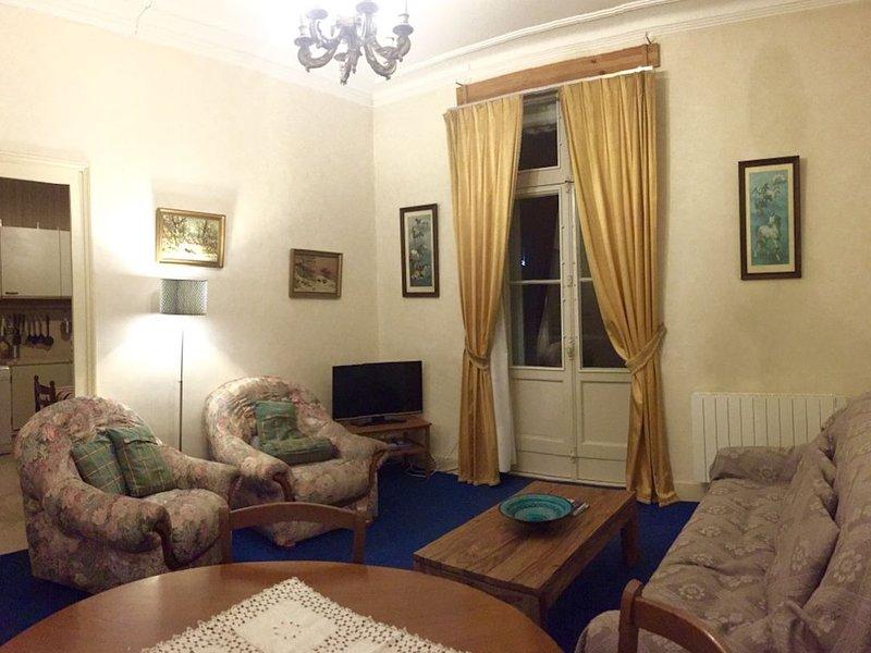 Bel appartement familial de 103 m² (4 pièces) en plein centre du village, vacation rental in Cauterets