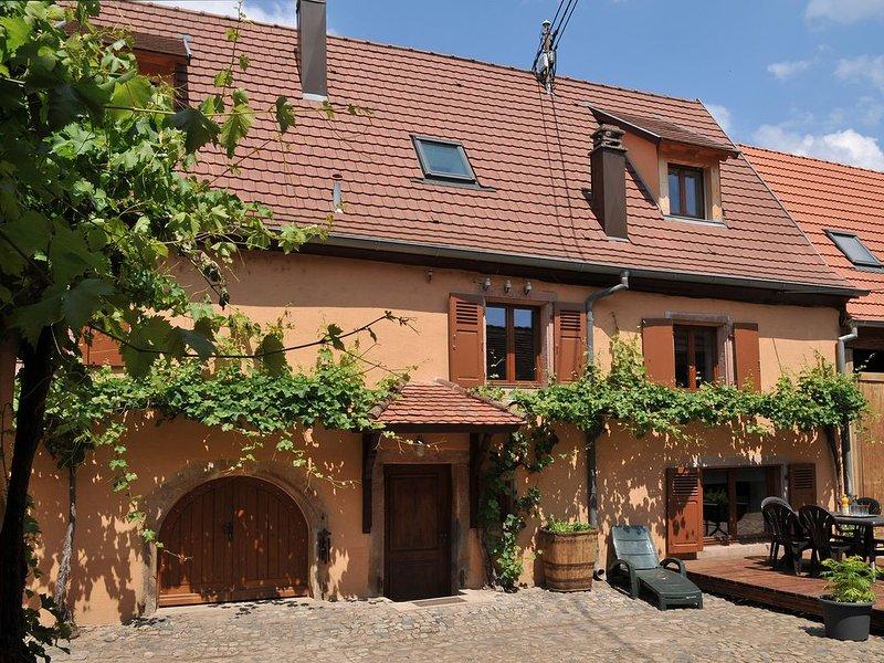 Maison 6-10 pers. route des vins d' Alsace agglomération de  Colmar, holiday rental in Niedermorschwihr