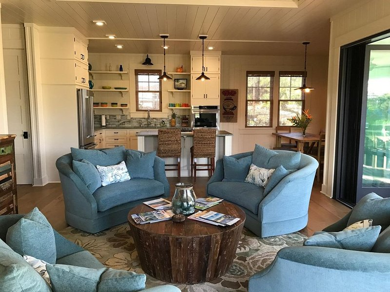 New  Custom  Plantation Cottage - Poipu Beach- Koloa, Hi, Ferienwohnung in Koloa