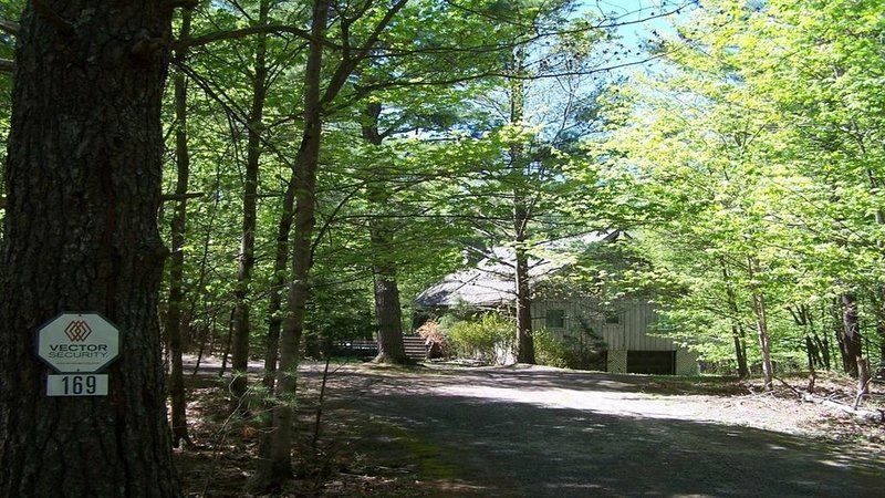 Catskill, HITS, Chalet in the Woods, vacation rental in Saugerties