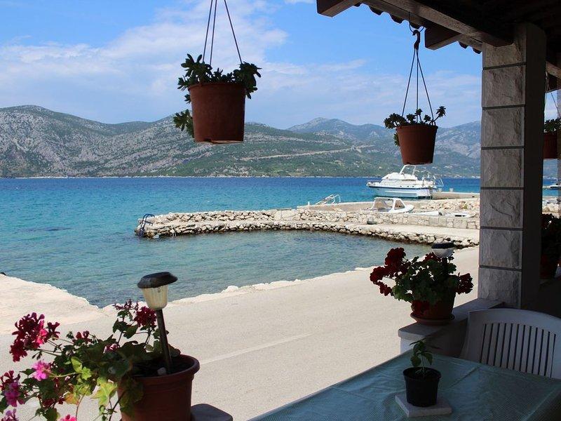 Beach apartment on Korcula island, vacation rental in Racisce