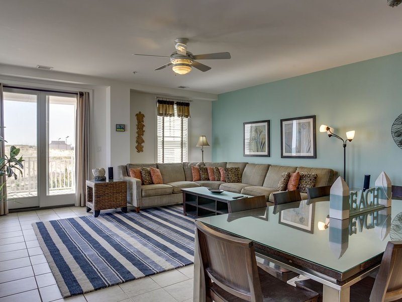 Direct Oceanfront with BIG corner wrap-around balcony!*, alquiler de vacaciones en Virginia Beach